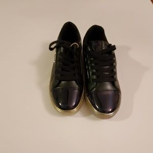 Glitter and Patent Sneakers